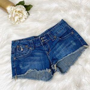 SALE 3/$20! Vanilla Star Jean Cut Off Shorts Sz 7